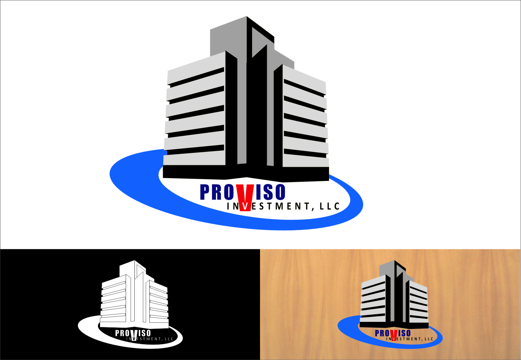 Logo Design by Ngepet_art - Entry No. 32 in the Logo Design Contest New Logo Design for PROVISO INVESTMENTS,LLC.