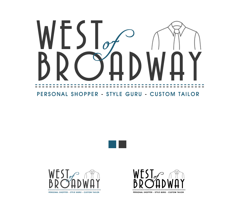 Logo Design by elmd - Entry No. 44 in the Logo Design Contest Unique Logo Design Wanted for West of Broadway.