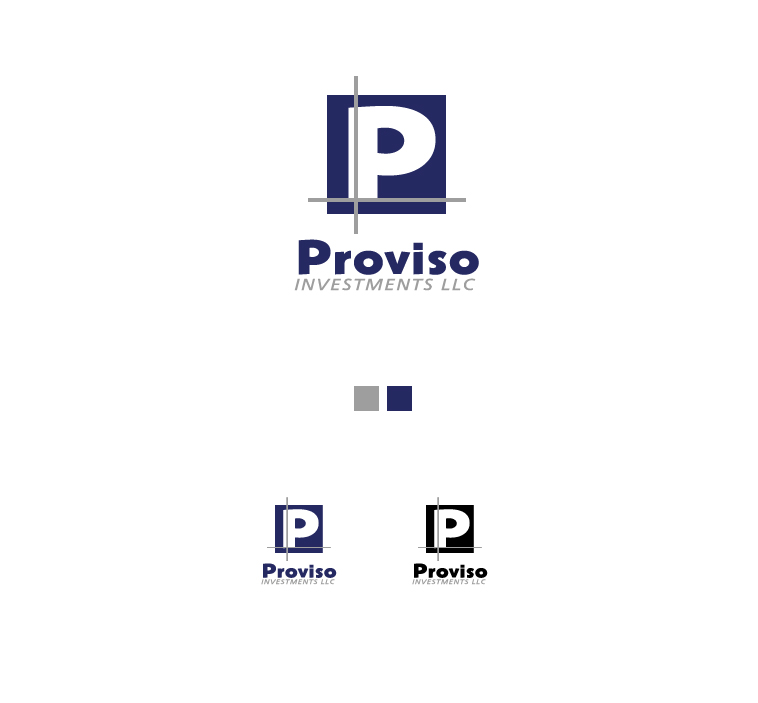 Logo Design by elmd - Entry No. 35 in the Logo Design Contest New Logo Design for PROVISO INVESTMENTS,LLC.