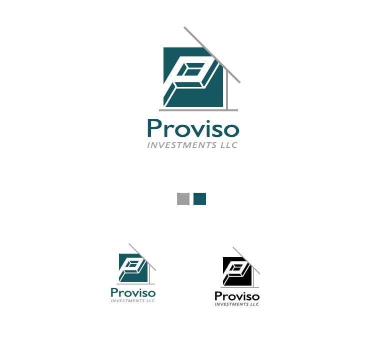 Logo Design by elmd - Entry No. 36 in the Logo Design Contest New Logo Design for PROVISO INVESTMENTS,LLC.