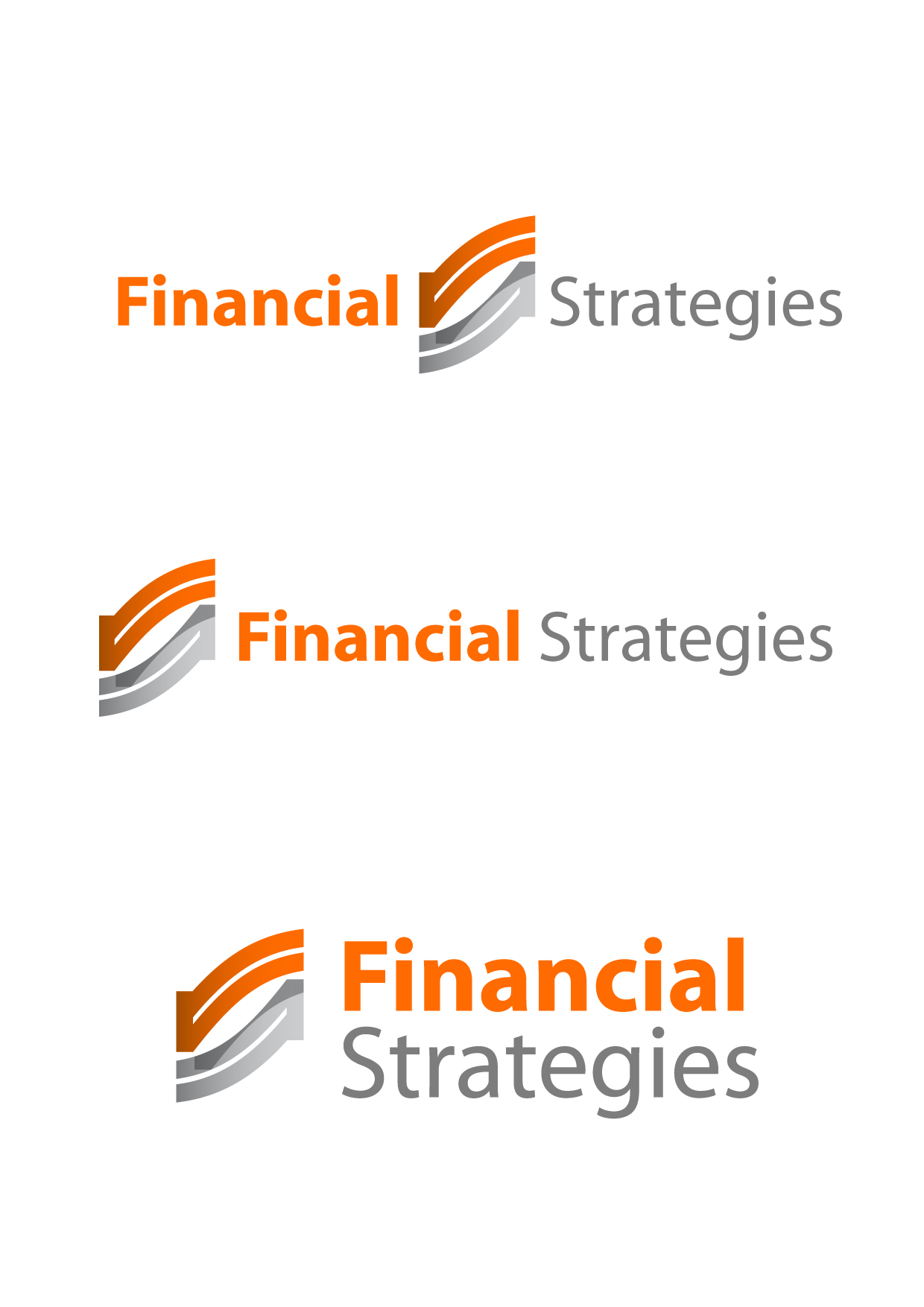 Logo Design by Wilfredo Mendoza - Entry No. 86 in the Logo Design Contest Logo Design Needed for Exciting New Company FS Financial Strategies.