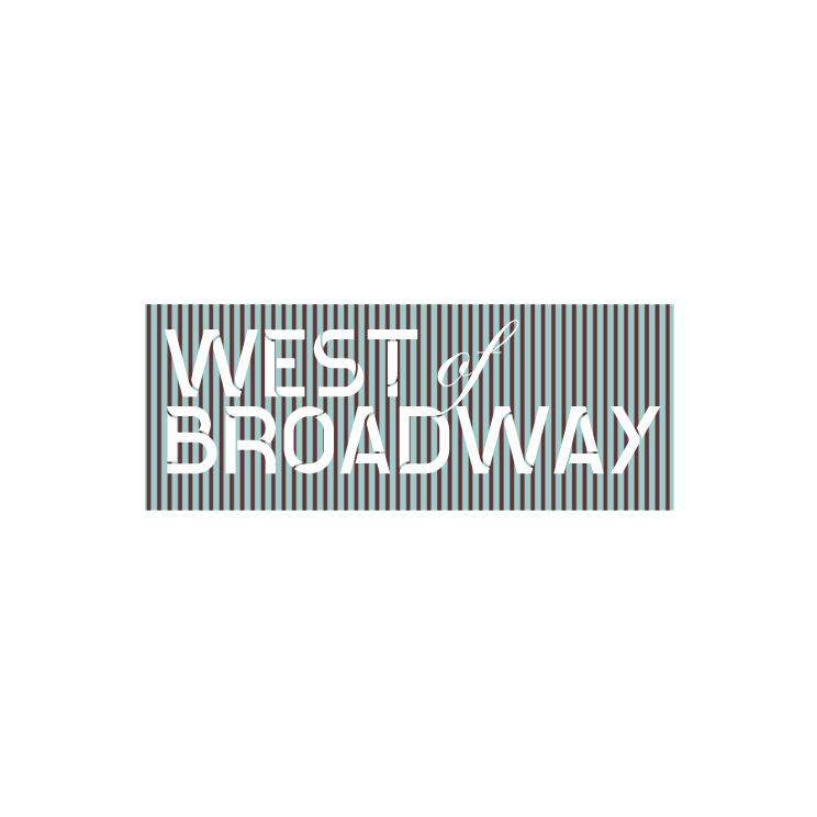 Logo Design by Utkarsh Bhandari - Entry No. 47 in the Logo Design Contest Unique Logo Design Wanted for West of Broadway.