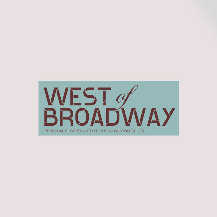 Logo Design by Utkarsh Bhandari - Entry No. 49 in the Logo Design Contest Unique Logo Design Wanted for West of Broadway.