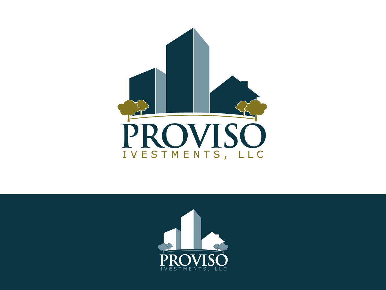 Logo Design by umxca - Entry No. 52 in the Logo Design Contest New Logo Design for PROVISO INVESTMENTS,LLC.