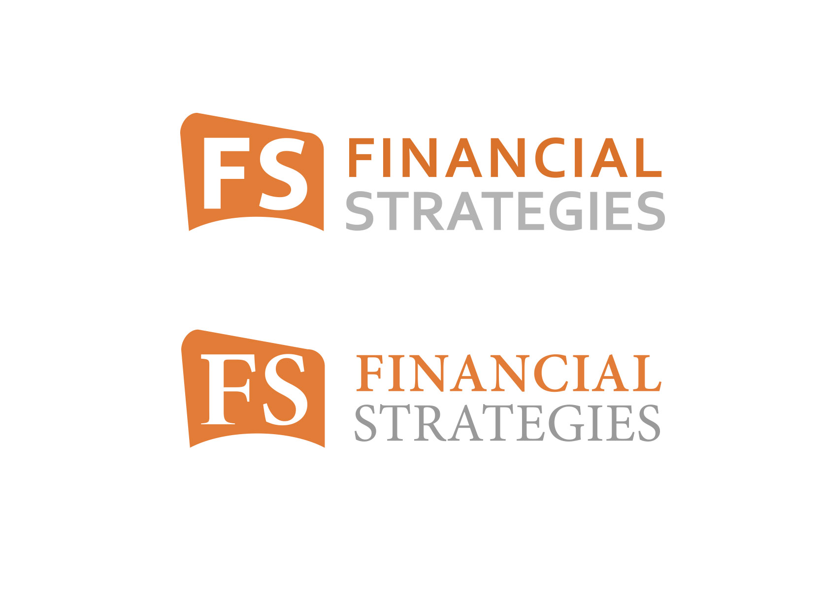 Logo Design by ddamian_dd - Entry No. 94 in the Logo Design Contest Logo Design Needed for Exciting New Company FS Financial Strategies.