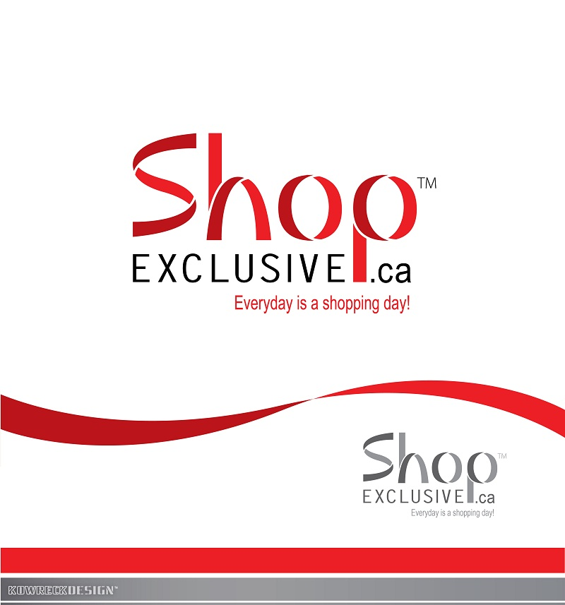 Logo Design by kowreck - Entry No. 37 in the Logo Design Contest Logo Design needed for branding exciting new company:  ShopExclusive.ca.