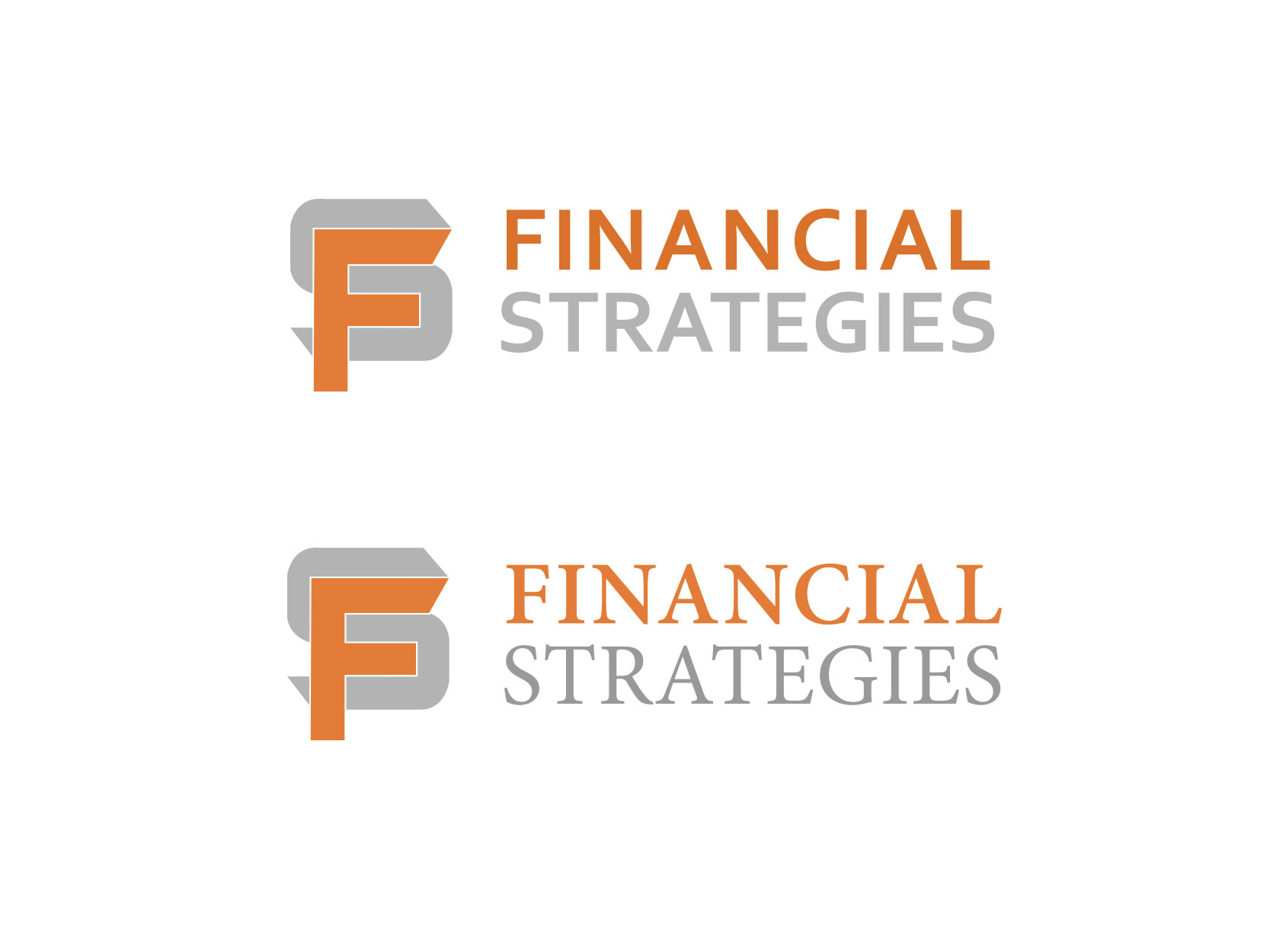 Logo Design by ddamian_dd - Entry No. 96 in the Logo Design Contest Logo Design Needed for Exciting New Company FS Financial Strategies.