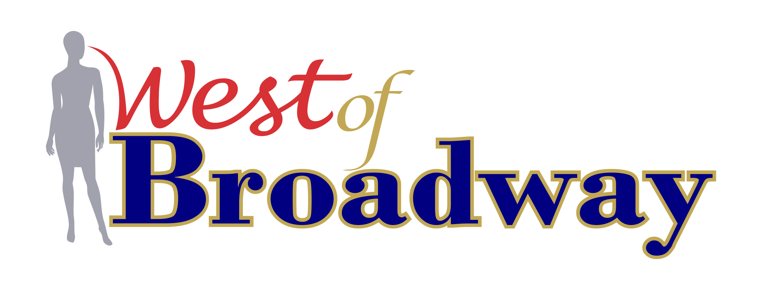 Logo Design by Yohanes Yunianto - Entry No. 55 in the Logo Design Contest Unique Logo Design Wanted for West of Broadway.