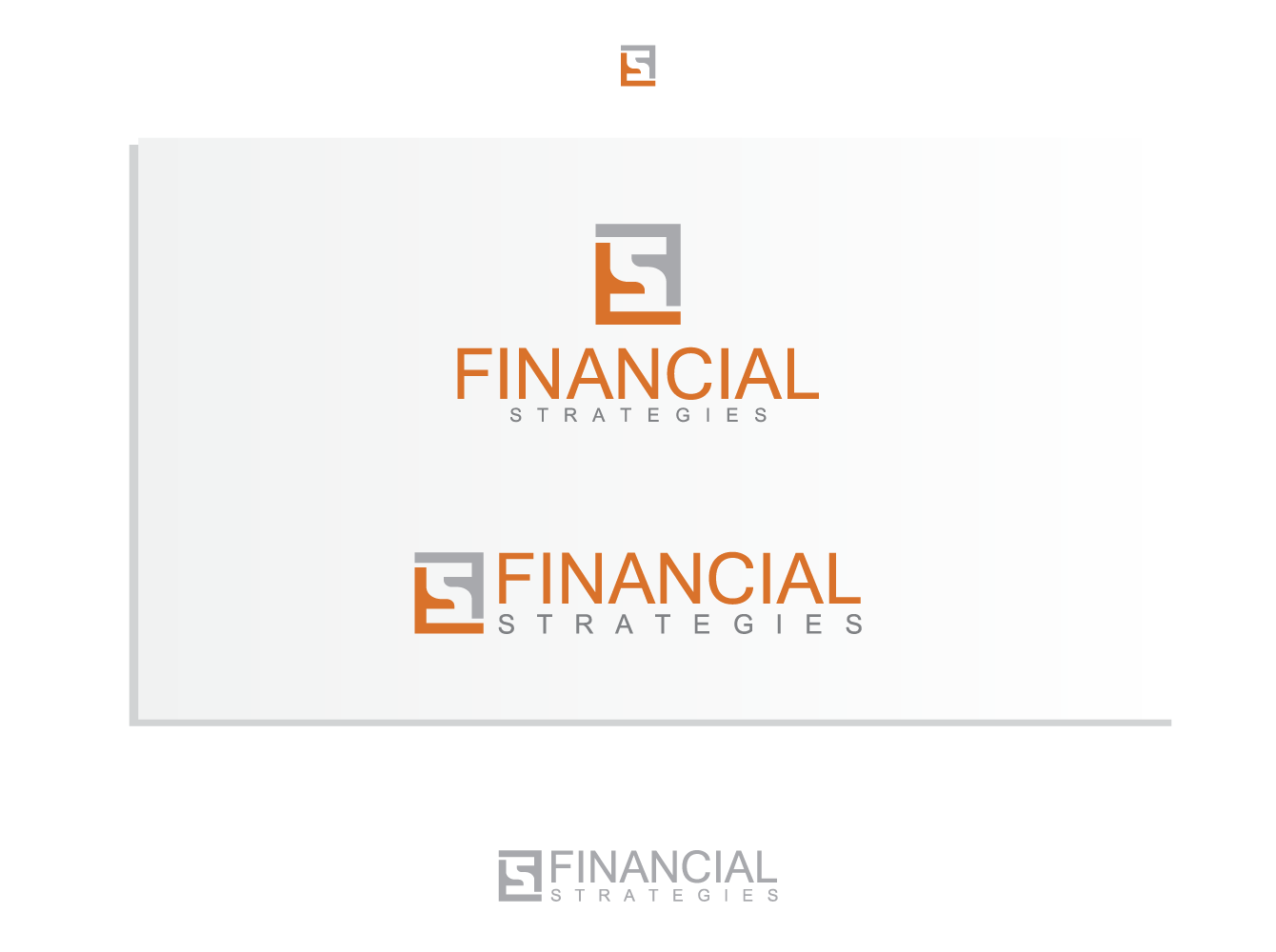Logo Design by Andi Muhtasyam - Entry No. 98 in the Logo Design Contest Logo Design Needed for Exciting New Company FS Financial Strategies.