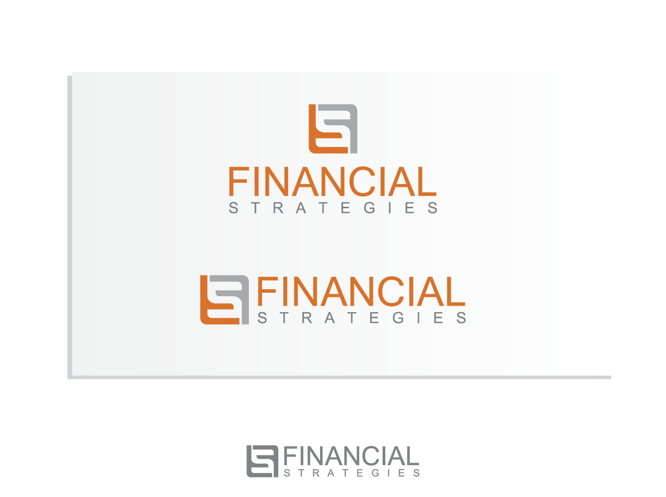 Logo Design by Andi Muhtasyam - Entry No. 99 in the Logo Design Contest Logo Design Needed for Exciting New Company FS Financial Strategies.
