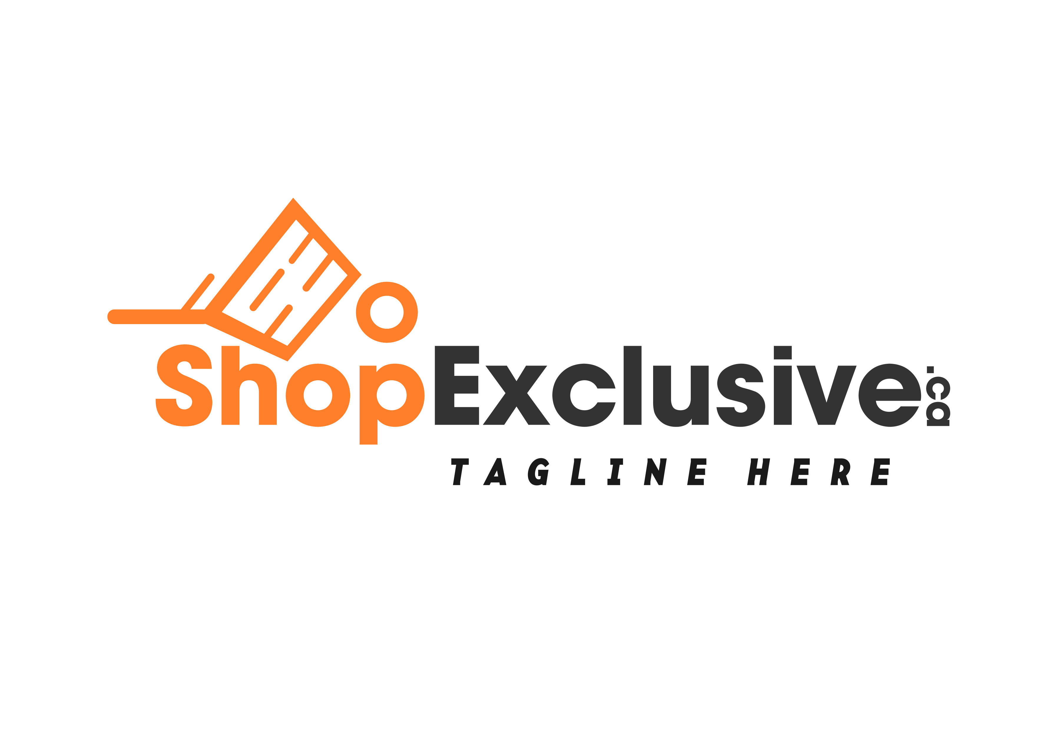 Logo Design by whoosef - Entry No. 44 in the Logo Design Contest Logo Design needed for branding exciting new company:  ShopExclusive.ca.