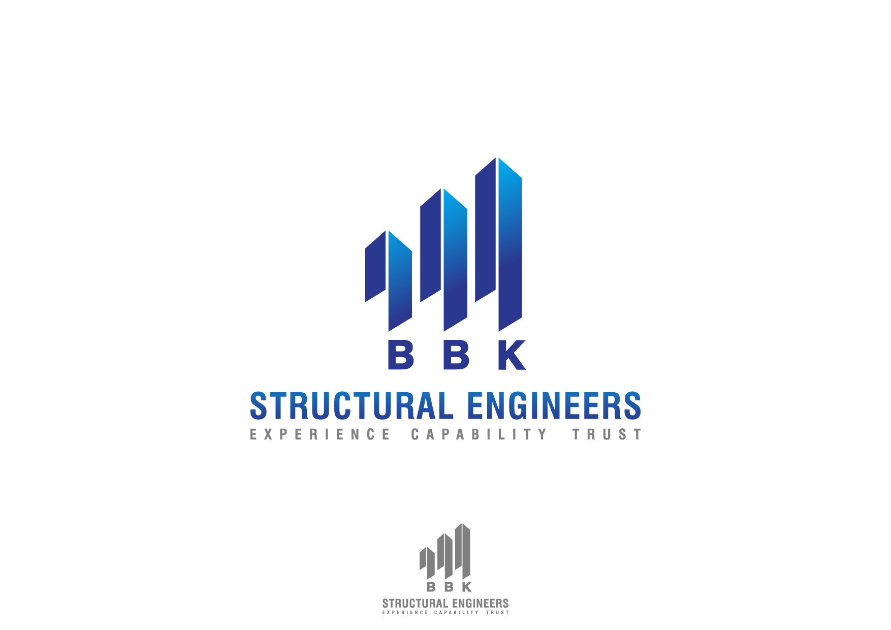 Logo Design by Nurgalih Destianto - Entry No. 69 in the Logo Design Contest Logo Design Needed for Exciting New Company BBK Consulting Engineers.