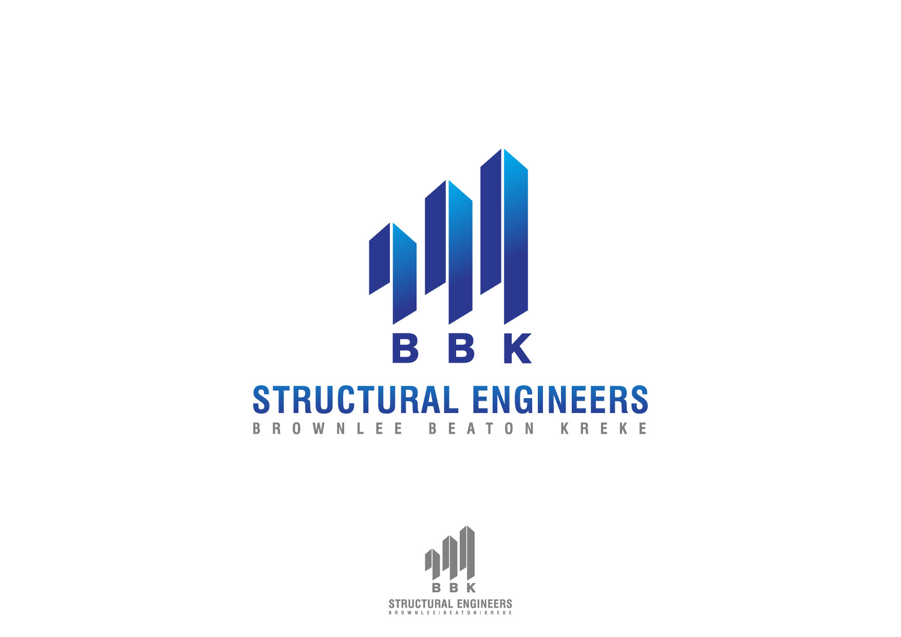 Logo Design by Nurgalih Destianto - Entry No. 70 in the Logo Design Contest Logo Design Needed for Exciting New Company BBK Consulting Engineers.