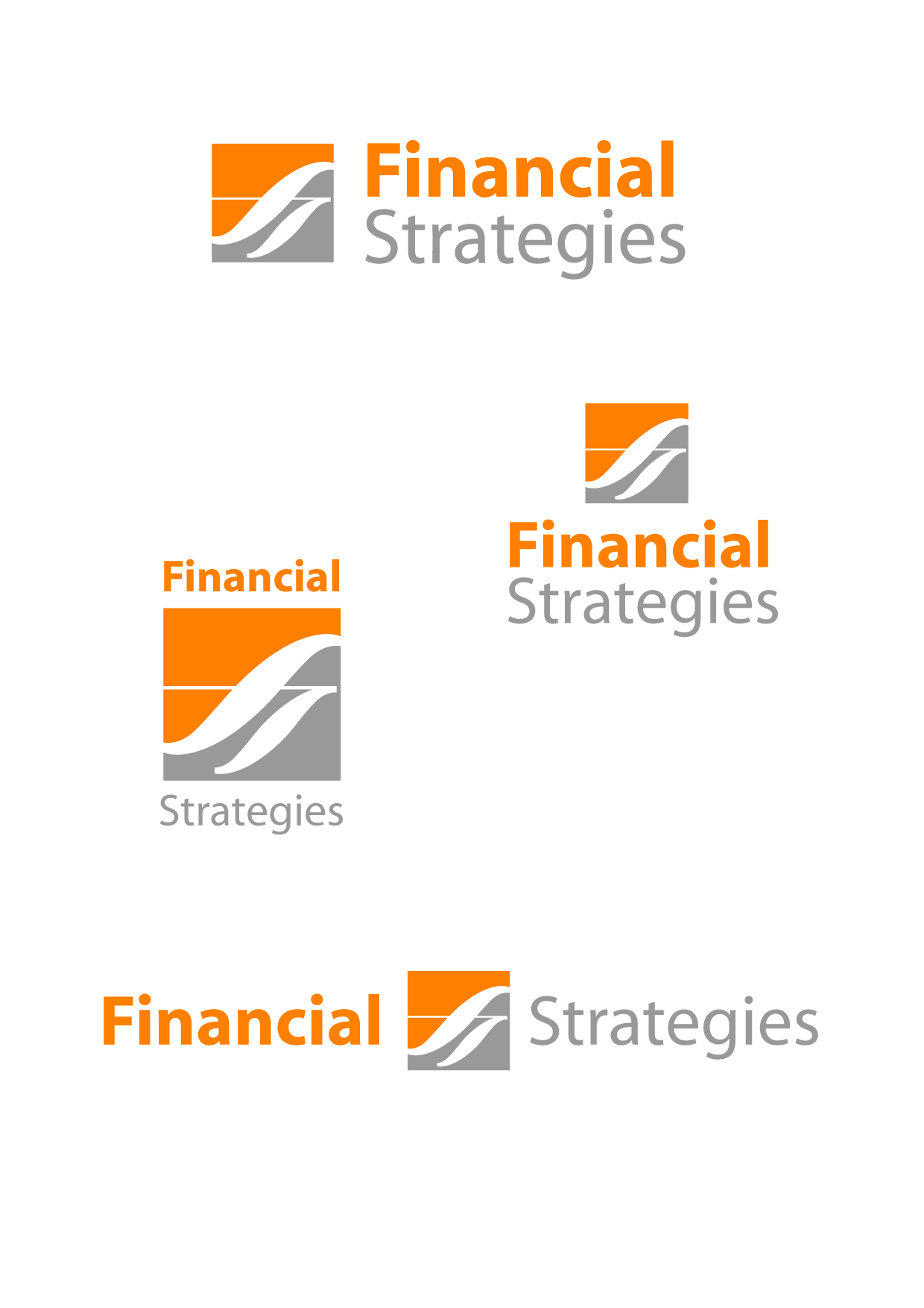 Logo Design by Wilfredo Mendoza - Entry No. 112 in the Logo Design Contest Logo Design Needed for Exciting New Company FS Financial Strategies.