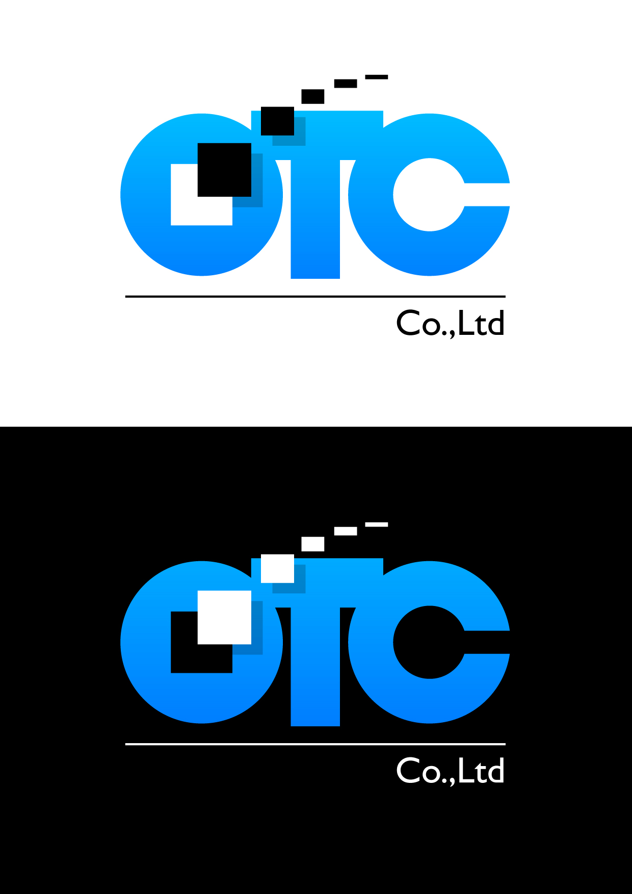 Logo Design by Wilfredo Mendoza - Entry No. 136 in the Logo Design Contest Unique Logo Design Wanted for OTC Co.,Ltd..