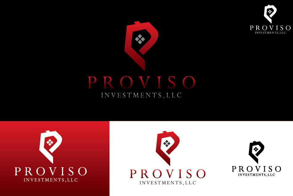 Logo Design by Dipin Bishwakarma - Entry No. 74 in the Logo Design Contest New Logo Design for PROVISO INVESTMENTS,LLC.