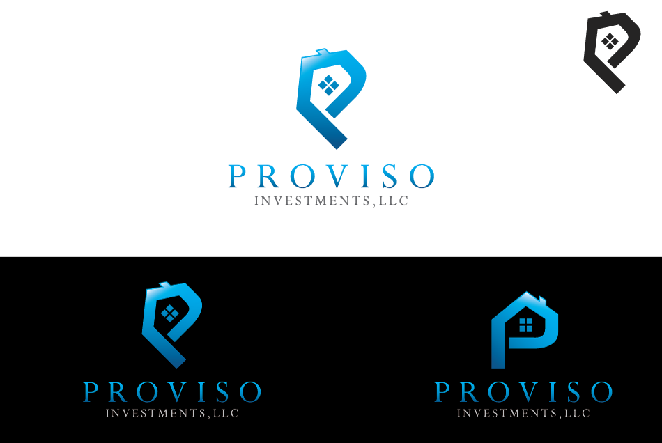Logo Design by Dipin Bishwakarma - Entry No. 75 in the Logo Design Contest New Logo Design for PROVISO INVESTMENTS,LLC.