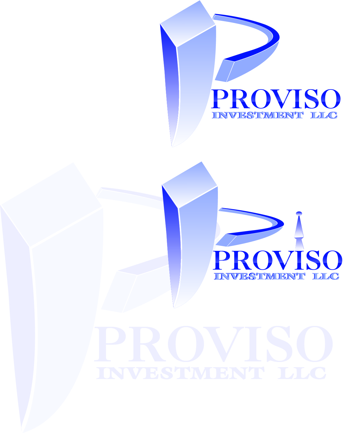 Logo Design by Private User - Entry No. 76 in the Logo Design Contest New Logo Design for PROVISO INVESTMENTS,LLC.