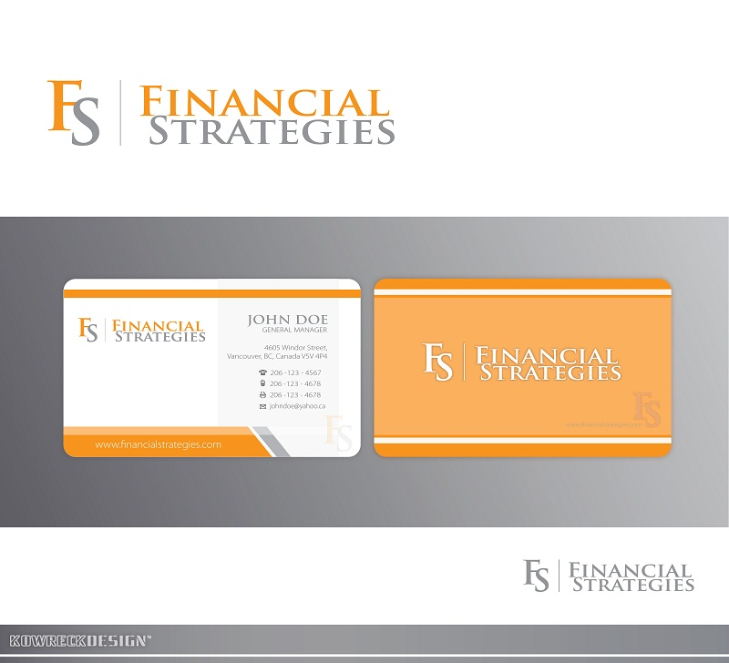 Logo Design by kowreck - Entry No. 122 in the Logo Design Contest Logo Design Needed for Exciting New Company FS Financial Strategies.