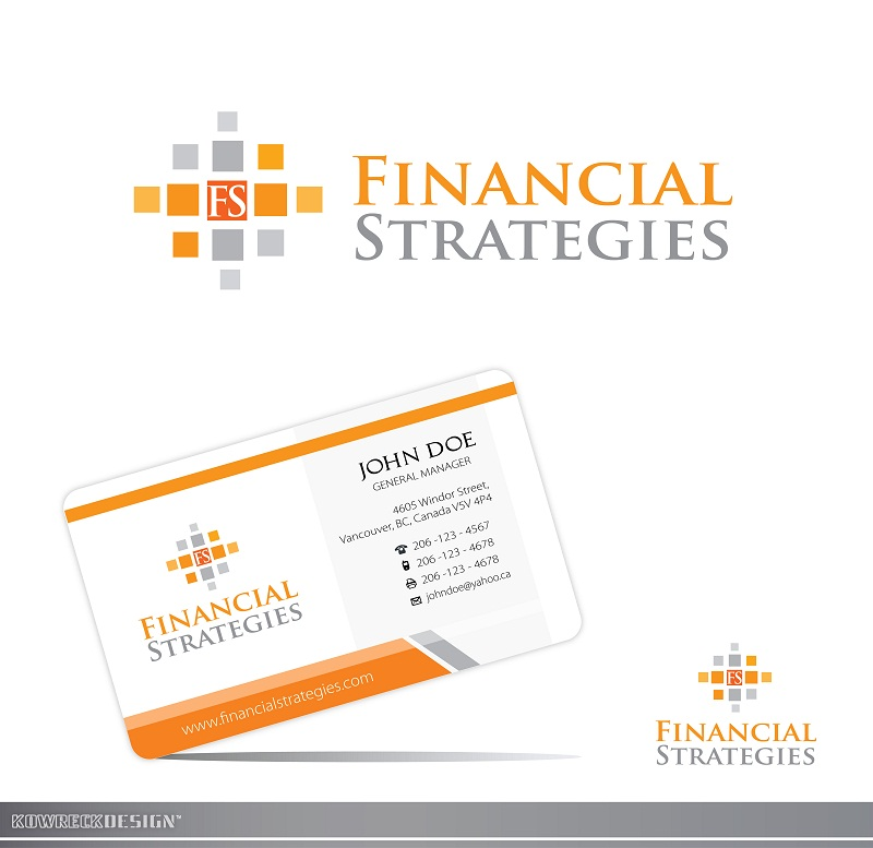 Logo Design by kowreck - Entry No. 123 in the Logo Design Contest Logo Design Needed for Exciting New Company FS Financial Strategies.