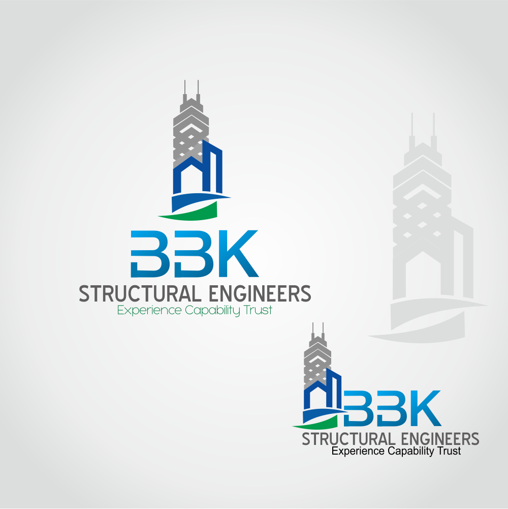 Logo Design by Raja Gowa - Entry No. 83 in the Logo Design Contest Logo Design Needed for Exciting New Company BBK Consulting Engineers.