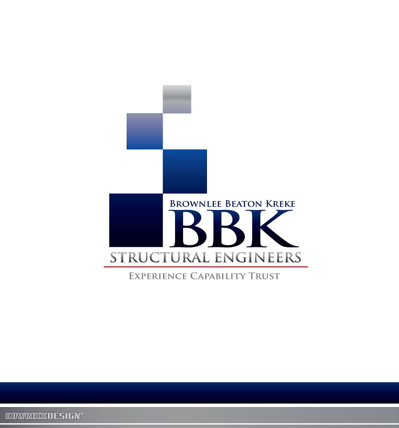 Logo Design by kowreck - Entry No. 84 in the Logo Design Contest Logo Design Needed for Exciting New Company BBK Consulting Engineers.