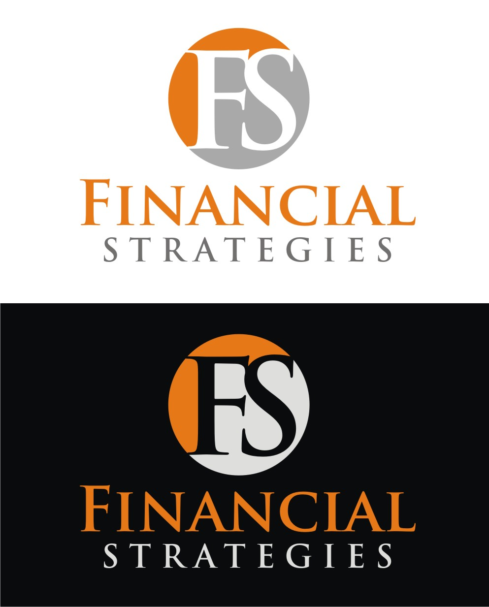 Logo Design by Reivan Ferdinan - Entry No. 128 in the Logo Design Contest Logo Design Needed for Exciting New Company FS Financial Strategies.