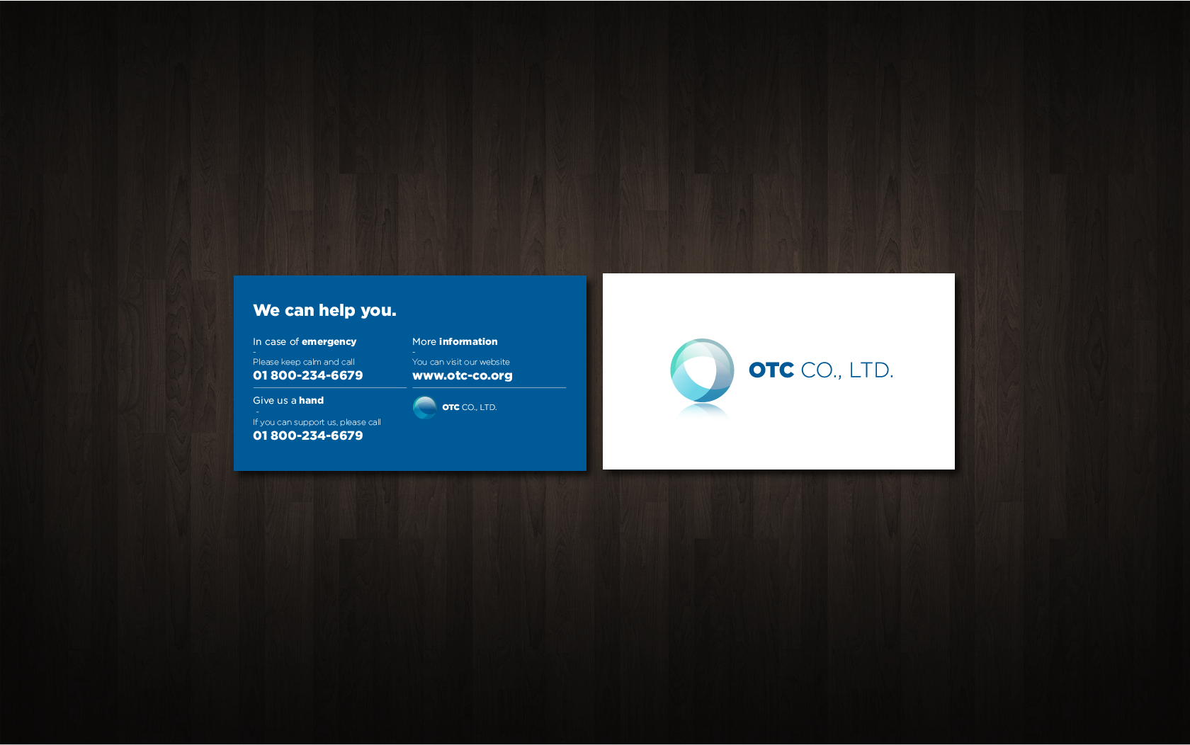 Logo Design by Gabby Menchaca - Entry No. 143 in the Logo Design Contest Unique Logo Design Wanted for OTC Co.,Ltd..