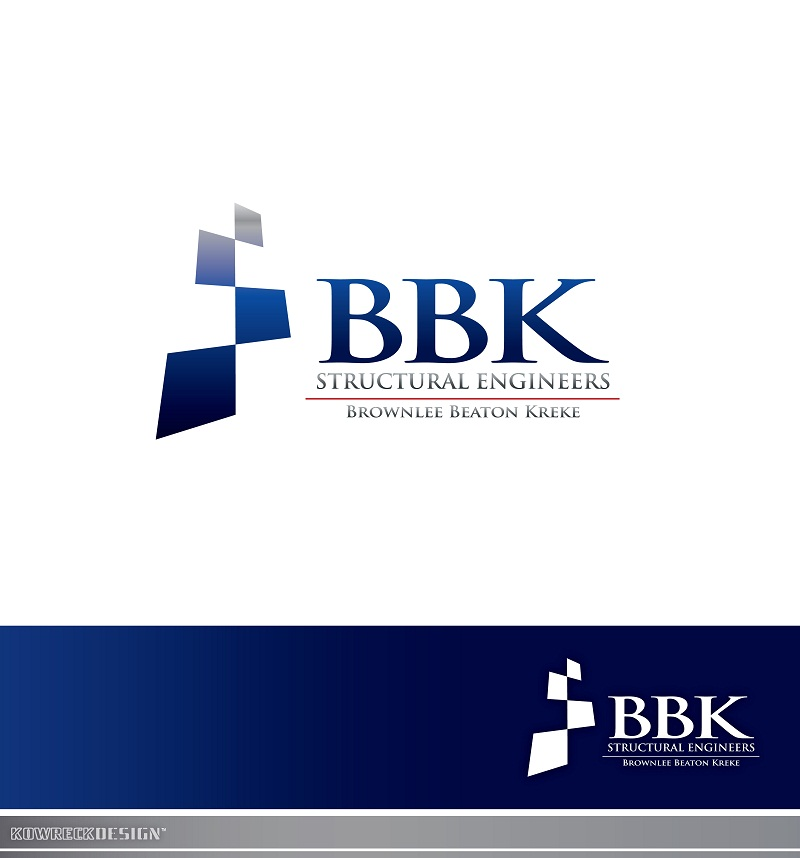 Logo Design by kowreck - Entry No. 86 in the Logo Design Contest Logo Design Needed for Exciting New Company BBK Consulting Engineers.