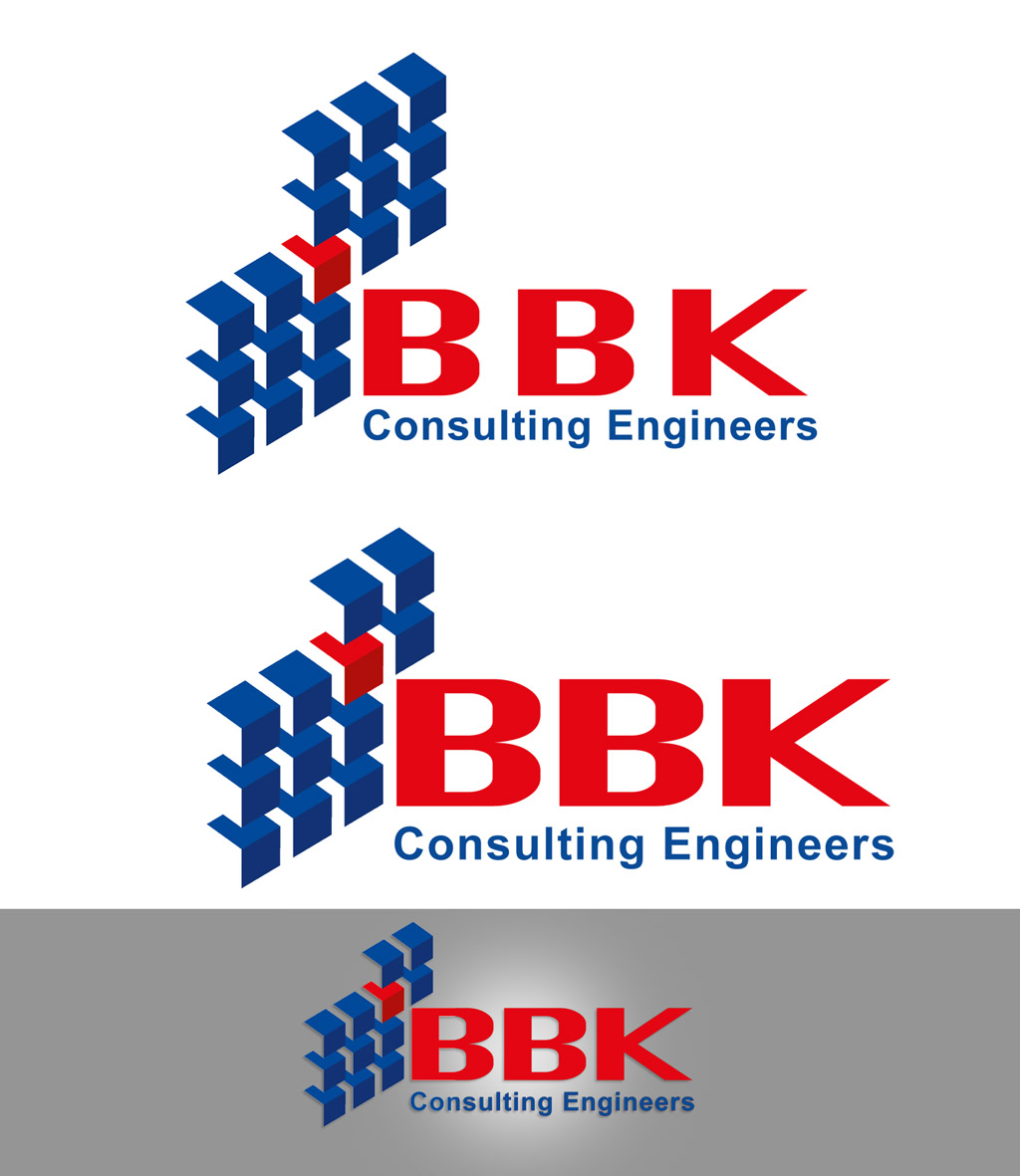Logo Design by Afshin Sadeghi - Entry No. 89 in the Logo Design Contest Logo Design Needed for Exciting New Company BBK Consulting Engineers.