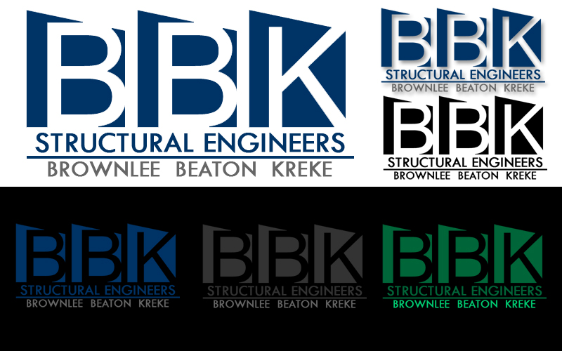 Logo Design by Robert Turla - Entry No. 98 in the Logo Design Contest Logo Design Needed for Exciting New Company BBK Consulting Engineers.