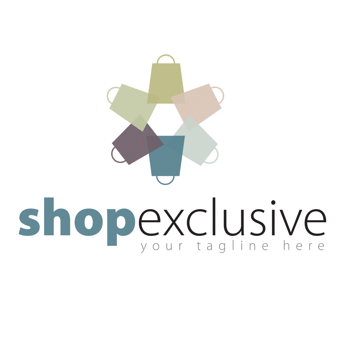 Logo Design by mersina - Entry No. 92 in the Logo Design Contest Logo Design needed for branding exciting new company:  ShopExclusive.ca.