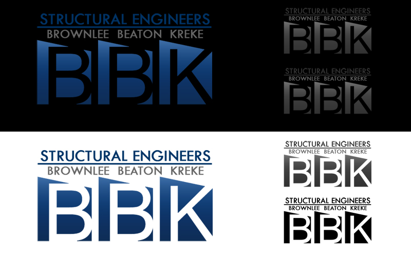 Logo Design by Private User - Entry No. 99 in the Logo Design Contest Logo Design Needed for Exciting New Company BBK Consulting Engineers.