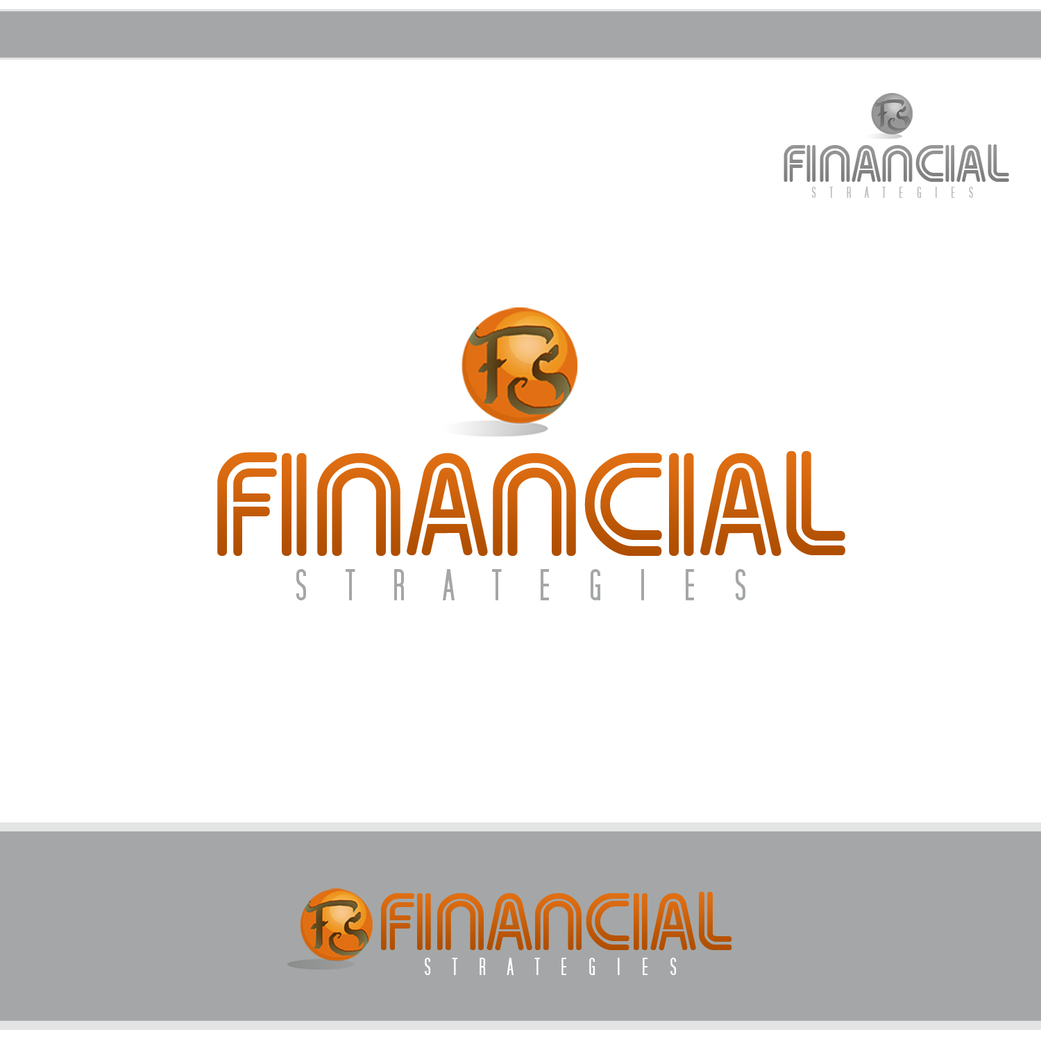 Logo Design by omARTist - Entry No. 143 in the Logo Design Contest Logo Design Needed for Exciting New Company FS Financial Strategies.