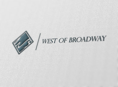 Logo Design by j2kadesign - Entry No. 76 in the Logo Design Contest Unique Logo Design Wanted for West of Broadway.