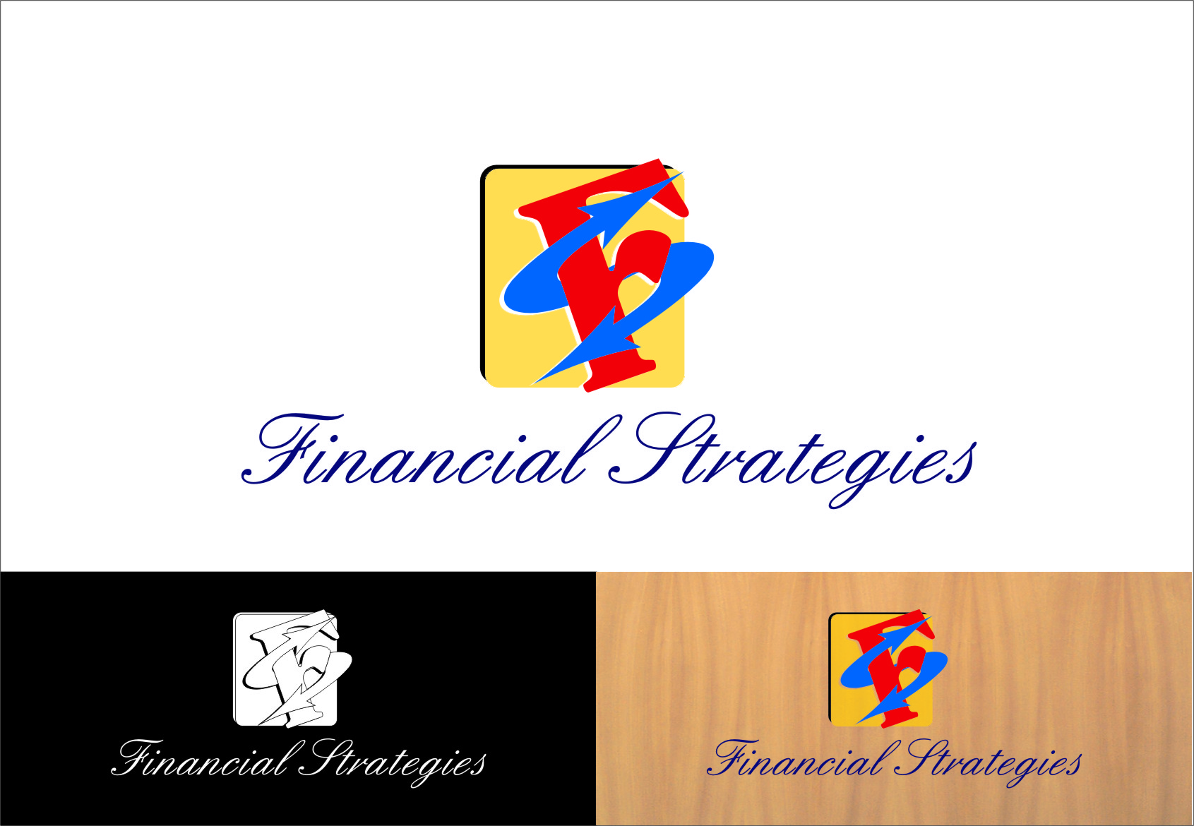 Logo Design by Ngepet_art - Entry No. 154 in the Logo Design Contest Logo Design Needed for Exciting New Company FS Financial Strategies.
