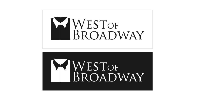 Logo Design by Hidayat Abu Bakar - Entry No. 81 in the Logo Design Contest Unique Logo Design Wanted for West of Broadway.