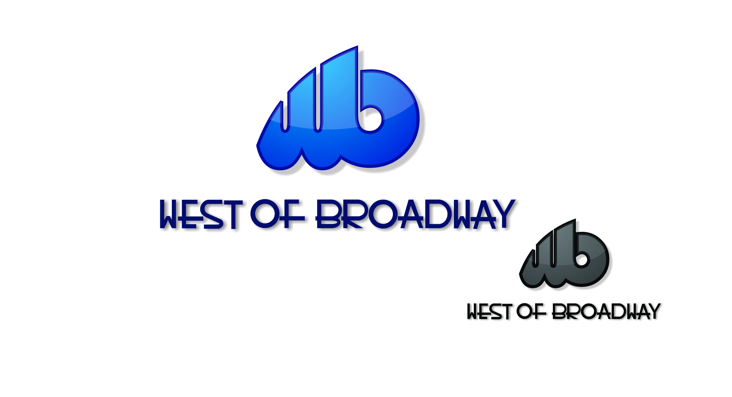 Logo Design by Private User - Entry No. 83 in the Logo Design Contest Unique Logo Design Wanted for West of Broadway.