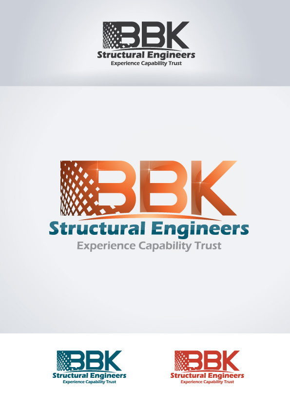Logo Design by Mouallem Zoheir - Entry No. 115 in the Logo Design Contest Logo Design Needed for Exciting New Company BBK Consulting Engineers.