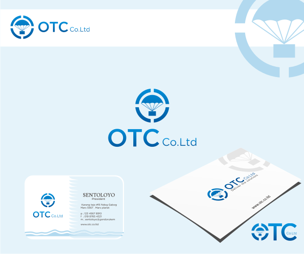 Logo Design by Muhammad Nasrul chasib - Entry No. 149 in the Logo Design Contest Unique Logo Design Wanted for OTC Co.,Ltd..