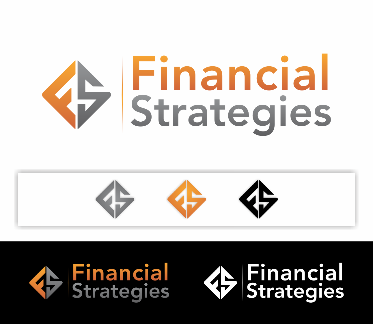 Logo Design by skyline - Entry No. 172 in the Logo Design Contest Logo Design Needed for Exciting New Company FS Financial Strategies.
