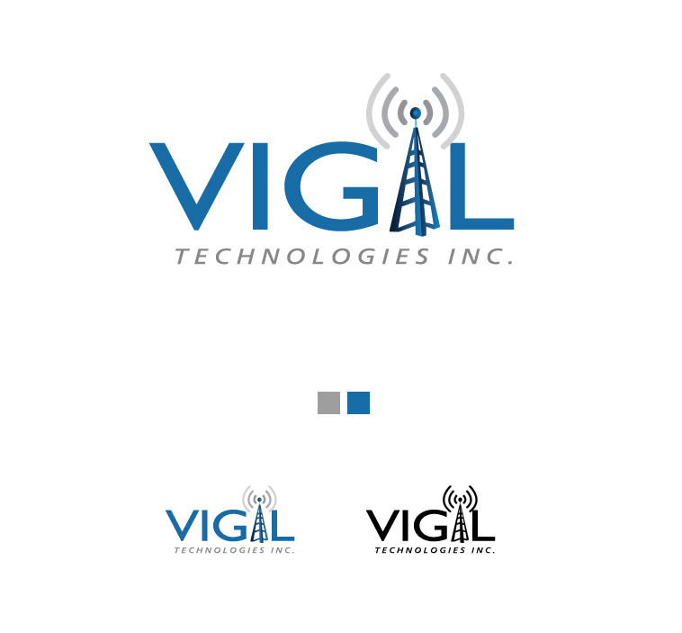 Logo Design by elmd - Entry No. 3 in the Logo Design Contest New Logo Design for Vigil Technologies Inc..
