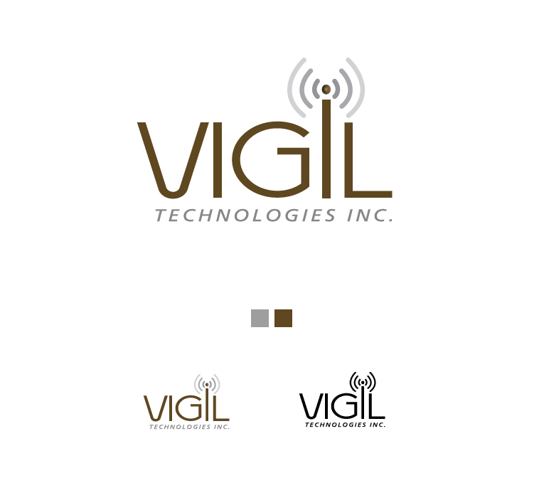 Logo Design by elmd - Entry No. 4 in the Logo Design Contest New Logo Design for Vigil Technologies Inc..