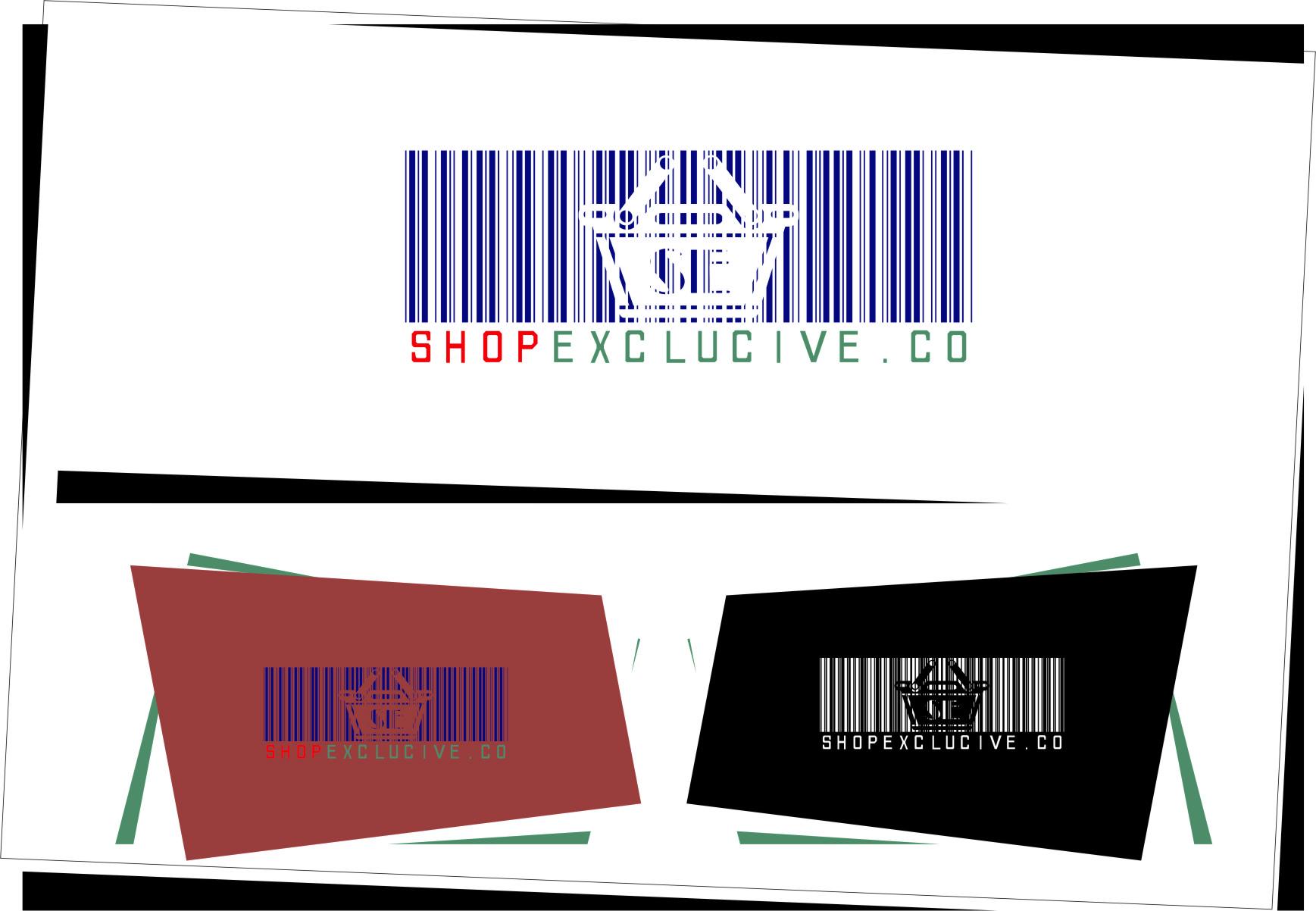 Logo Design by RasYa Muhammad Athaya - Entry No. 109 in the Logo Design Contest Logo Design needed for branding exciting new company:  ShopExclusive.ca.