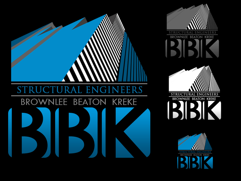 Logo Design by Robert Turla - Entry No. 121 in the Logo Design Contest Logo Design Needed for Exciting New Company BBK Consulting Engineers.