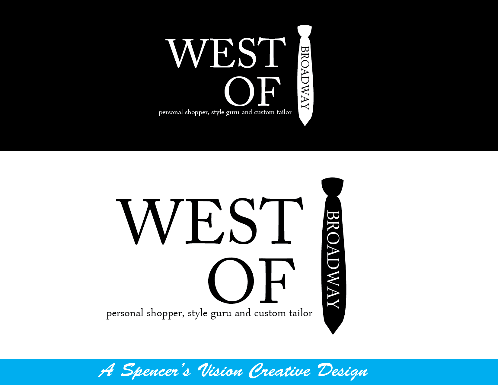 Logo Design by spencersvision - Entry No. 91 in the Logo Design Contest Unique Logo Design Wanted for West of Broadway.