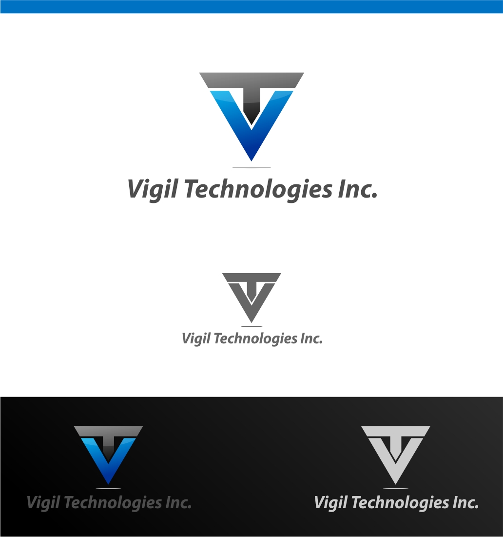 Logo Design by haidu - Entry No. 6 in the Logo Design Contest New Logo Design for Vigil Technologies Inc..