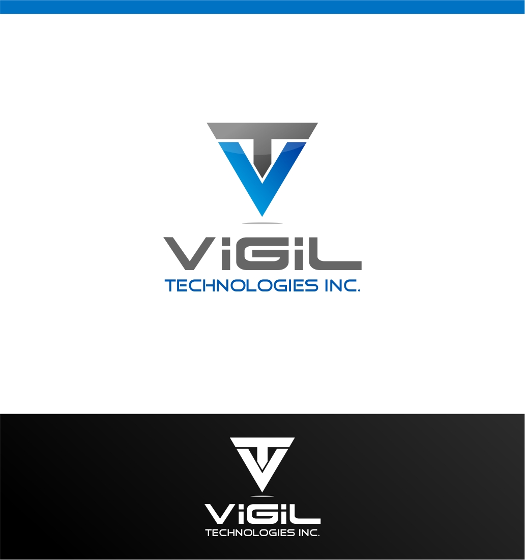 Logo Design by haidu - Entry No. 7 in the Logo Design Contest New Logo Design for Vigil Technologies Inc..