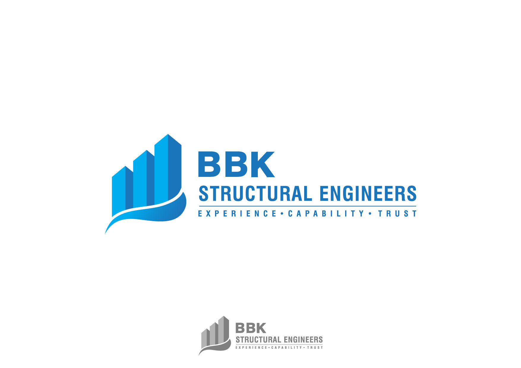 Logo Design by Nurgalih Destianto - Entry No. 125 in the Logo Design Contest Logo Design Needed for Exciting New Company BBK Consulting Engineers.
