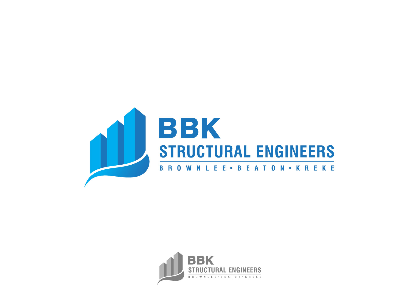Logo Design by Nurgalih Destianto - Entry No. 126 in the Logo Design Contest Logo Design Needed for Exciting New Company BBK Consulting Engineers.